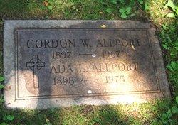 Dr Gordon Willard Allport