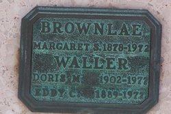 Doris M. <I>Brownlae</I> Waller