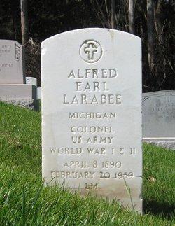 Col Alfred Earl Larabee