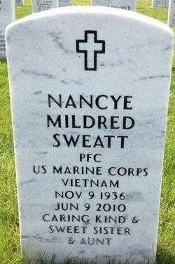 Nancye Mildred Sweatt