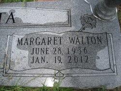 Margaret Jane <I>Walton</I> Acosta