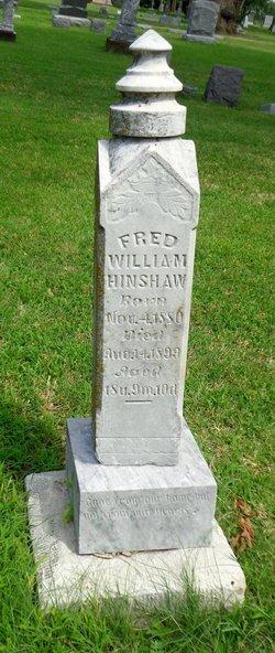 Fred William Hinshaw