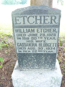Cassandra Deplacey <I>Blodgett</I> Etcher