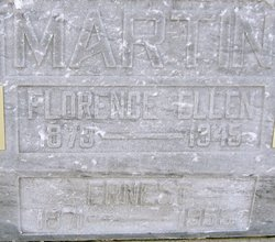 Florence Ellen <I>Pettley</I> Martin
