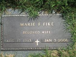 Marie F <I>Buenger</I> Fike