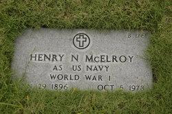 Henry N McElroy