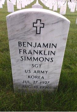 Benjamin Franklin Simmons