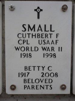 Cuthbert F Small