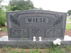 Betty Louise <I>Allee</I> Wiese