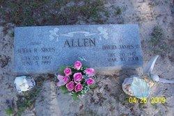 Julia Rhea <I>Sikes</I> Allen