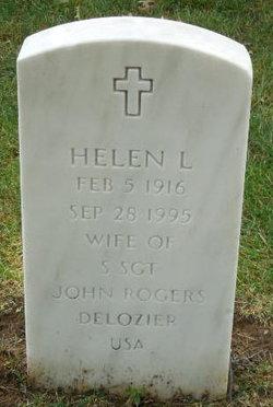 Helen L Delozier