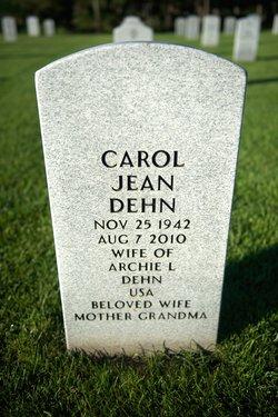 Carol Jean <I>Gustafson</I> Dehn