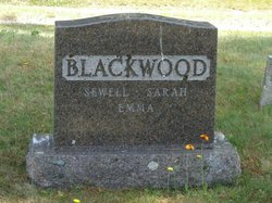 Sarah Ann <I>Trott</I> Blackwood