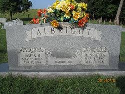 Henrietta <I>Todd</I> Albright