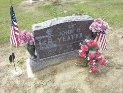 "John H ""Joe"" Yeater"