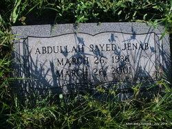 """Dr Abdullah Sayed """"Abe"""" Jenab"""