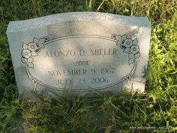 """Alonzo D """"Lonnie"""" Miller"""