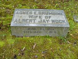 Agnes Emeline <I>Grumbine</I> Nock
