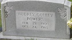Audrey Frances <I>Colley</I> Powers