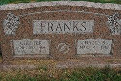 Hazel Belle <I>Peters</I> Frank