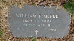 William Frederick McFee