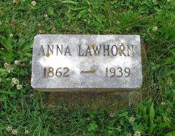 "Anna ""Willie Ann"" <I>Dunning</I> Lawhorn"