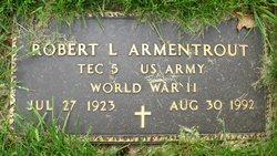 Pvt Robert L Armentrout