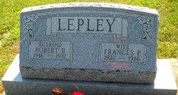 Frances <I>Pascoe</I> Lepley