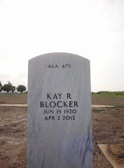 Kay Katherine <I>Roberts</I> Blocker