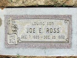 Joe Edward Ross