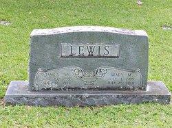 Mary Melvinia Mellie <I>Ludlum</I> Lewis