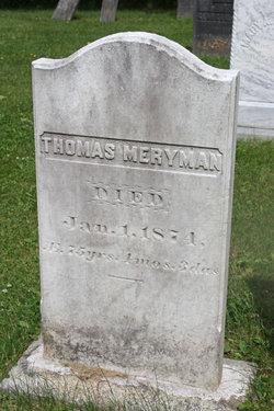 Thomas Meryman