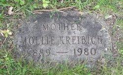 """Wilhelmina Louisa """"Mollie"""" <I>Mueller</I> Kreibich"""