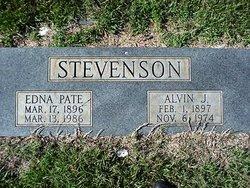Edna Maude <I>Pate</I> Stevenson
