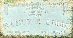 Nancy Betsy <I>Luce</I> Kibbe