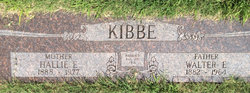 Walter Earl Kibbe