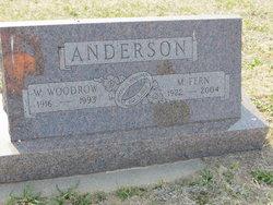 Mildred Fern <I>Thomas</I> Anderson