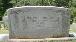 Bessie Eliza <I>Hayes</I> Bingham