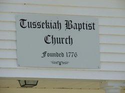 Tussekiah Baptist Church Cemetery