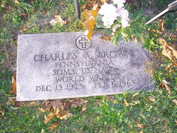 Charles A Brown