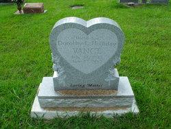 "Dorothy L ""Dottie Lou"" <I>Holliday</I> Vance"