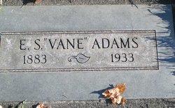 """Eugene Sylvanus """"Vane"""" Adams"""