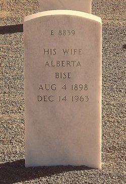 Alberta Bise <I>Moseley</I> Cummings