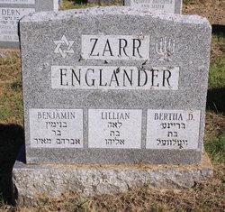 Lillian <I>Englander</I> Zarr