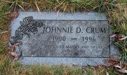 Johnnie D. <I>Demoss</I> Crum