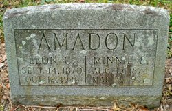 Minnie E. <I>Alderman</I> Amadon