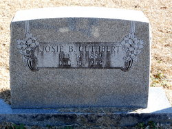 Josie B. <I>Bridger</I> Cuthbert
