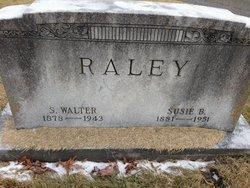 Susie <I>Bagwell</I> Raley