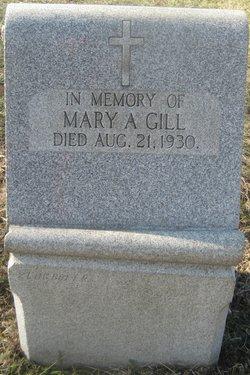 Mary A Gill