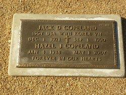 Jack D Copeland